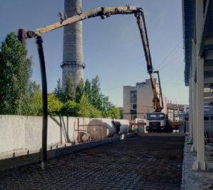 автобетононасос 36, аренда автобетононасоса, услуги бетононасоса 36 метров в спб
