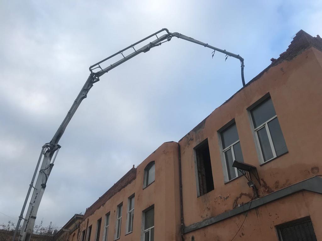 бетон м350 в спб