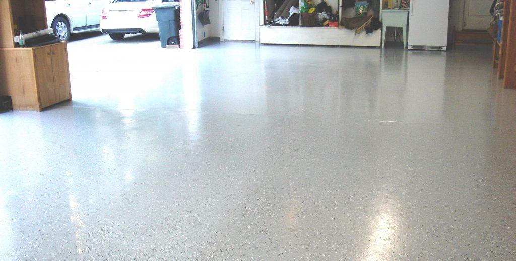 бетонный пол в гараж