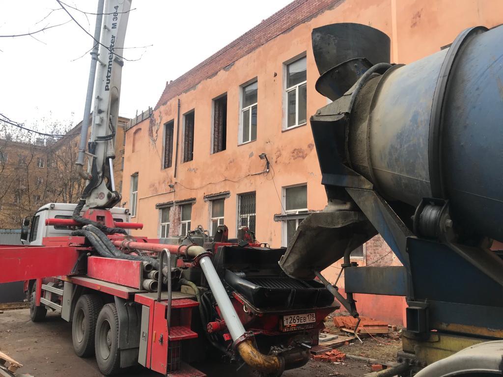 бетон м350 под насос