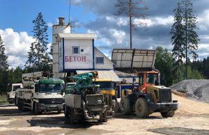Бетон в Сертолово с доставкой