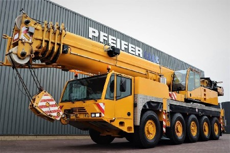 Автокран 100 тонн 51 метр стрела TEREX DEMAG AC 100