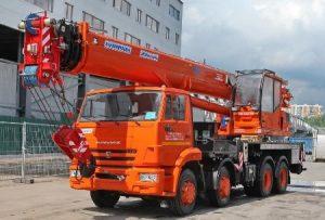 Автокран 40 тонн 34 метра