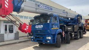 Автокран 50 тонн 34 метра