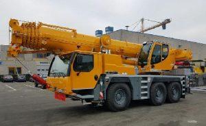 Автокран 60 тонн 42 метра LIEBHERR LTM 1060/2