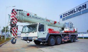 Автокран 70 тонн 44 метра стрела Zoomlion QY70