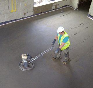 Железнение бетона