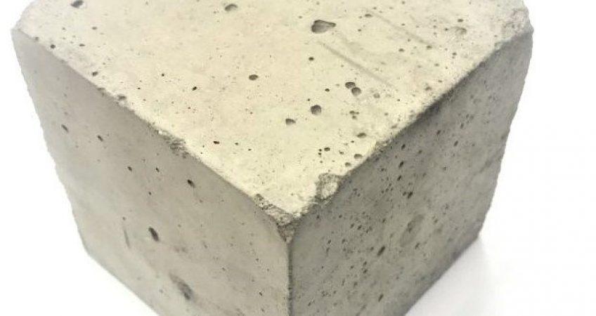 кубик испытания бетона